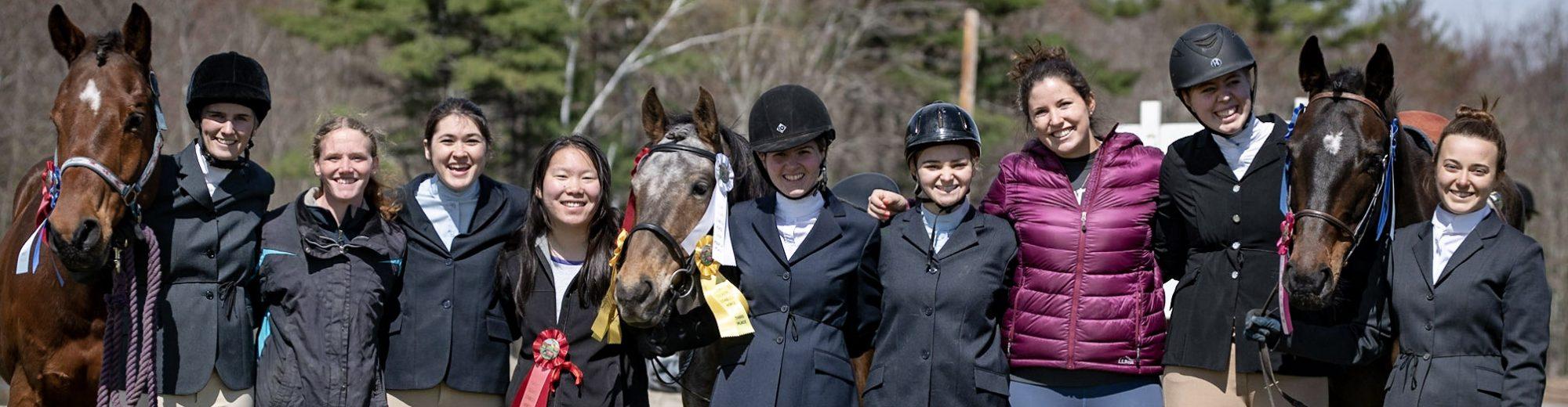 Bowdoin College Equestrian Team
